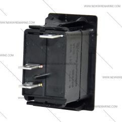 Illuminated Rocker Switch Wiring Diagram Travel Trailer On Off Marine Carling V1d1 New Wire