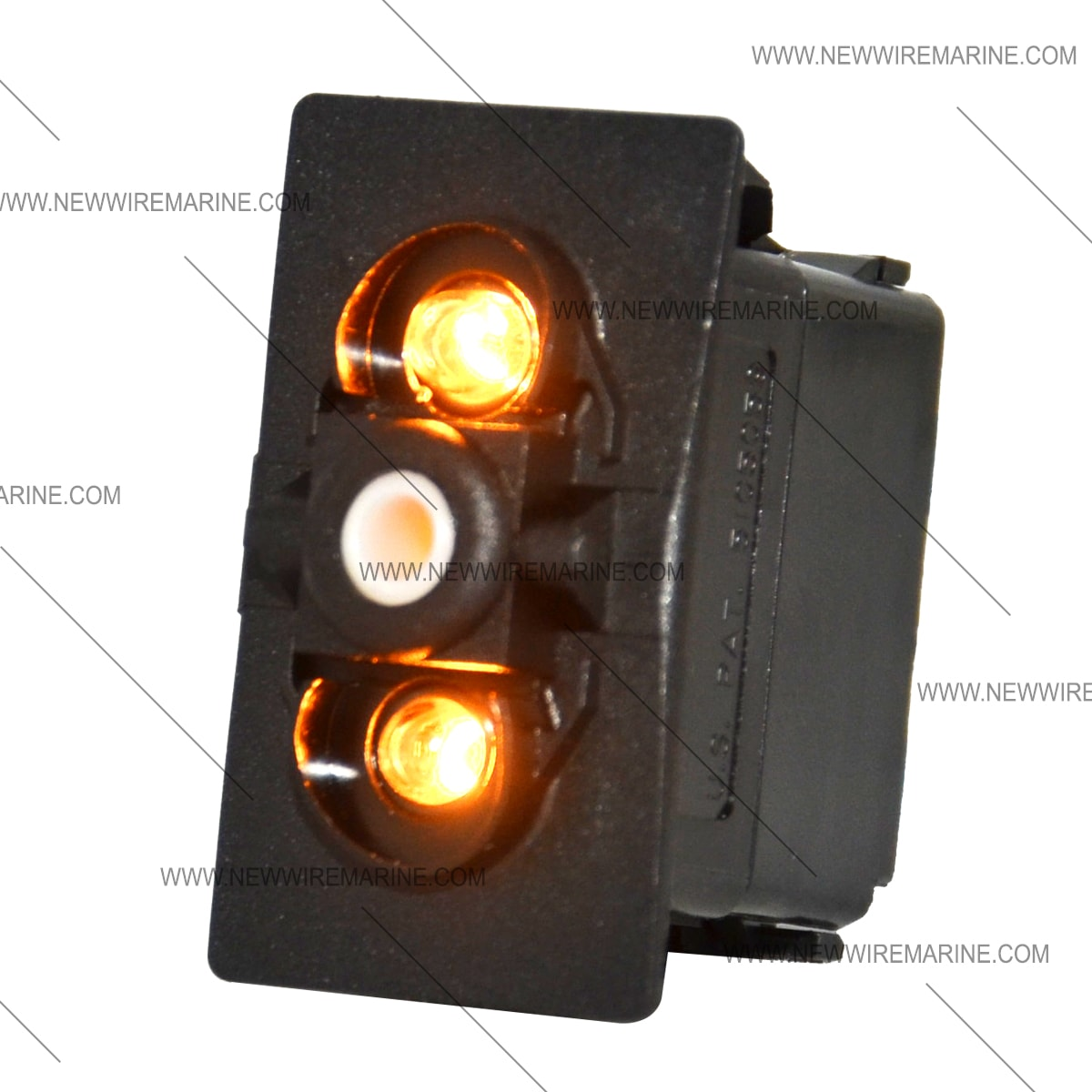hight resolution of carling double white light rocker switch