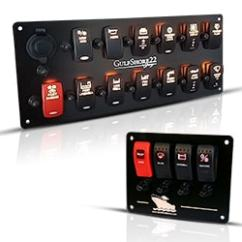 Boat Battery Wiring Diagrams Craftsman Garage Door Diagram New Wire Marine | Switch Panels Switches Rocker Covers