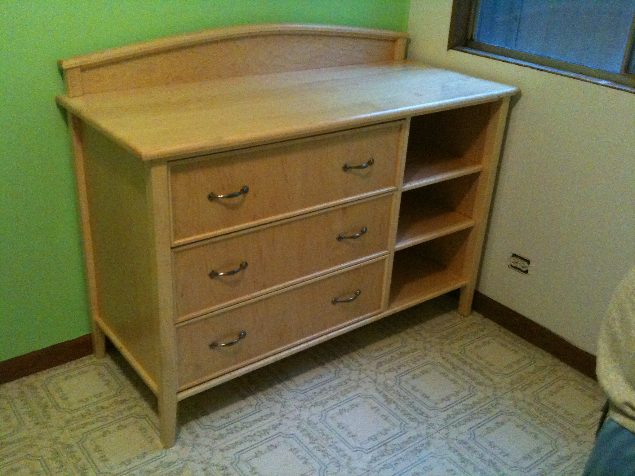 Recent projects changing tabledresser and baby bed  New Wood Shop