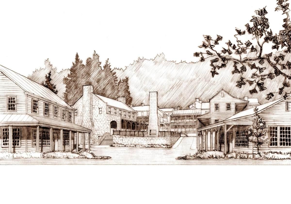 Plan for an Appalachian Town Center