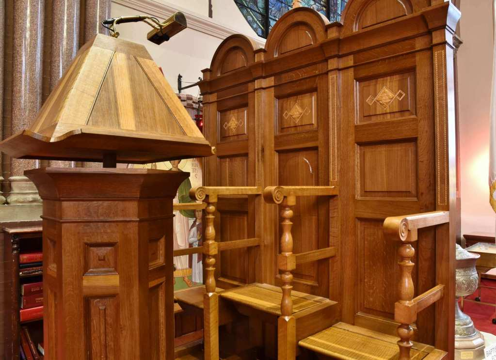 Furniture for an Historic Cathedral