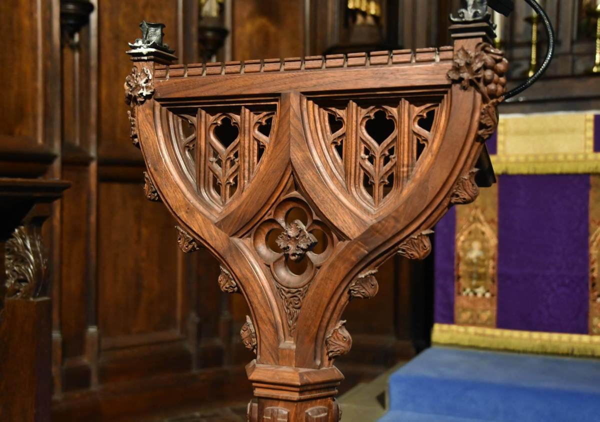 Woodwork for Western Churches