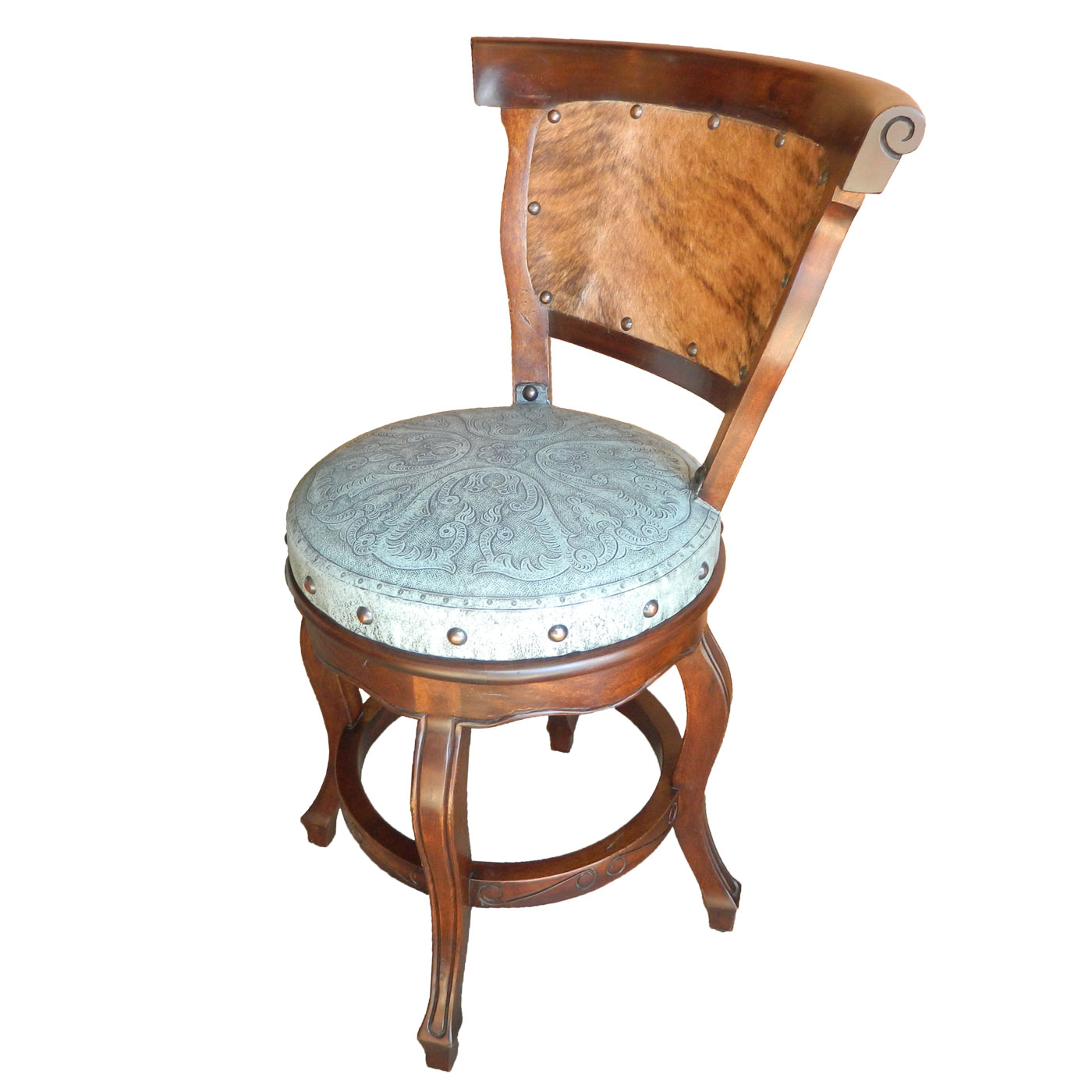 swivel chair in spanish folding rocking lawn heritage round barstool with back colonial call 760 321 8780