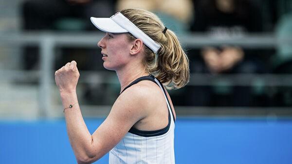 Александрова выиграла первый титул WTA в одиночном разряде