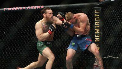 Макгрегор нокаутировал Серроне за 40 секунд на турнире в Лас-Вегасе