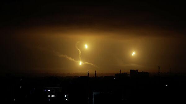 Израильские военные засекли две ракеты, выпущенные из сектора Газа