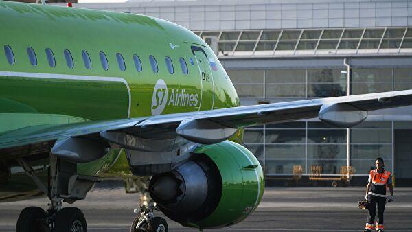 S7 приостановила регулярные рейсы в Узбекистан и Казахстан