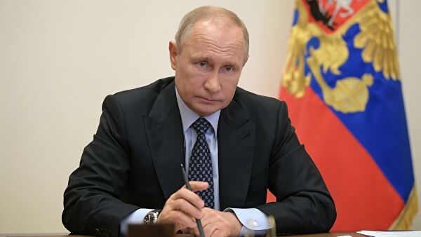 Путин обсудил с членами Совбеза коронавирус и ситуацию в Ливии