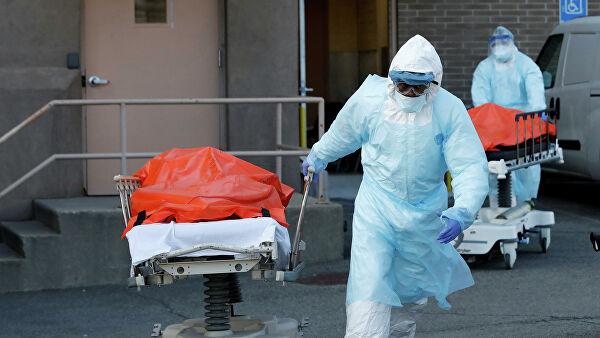 В США поставлен новый антирекорд по числу умерших от COVID-19