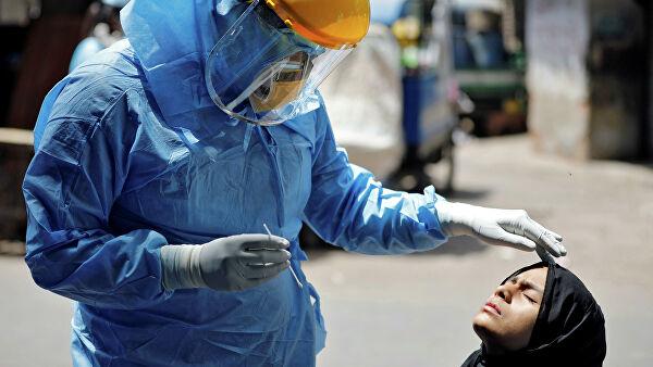 В Индии число заразившихся коронавирусом  превысило девять тысяч человек