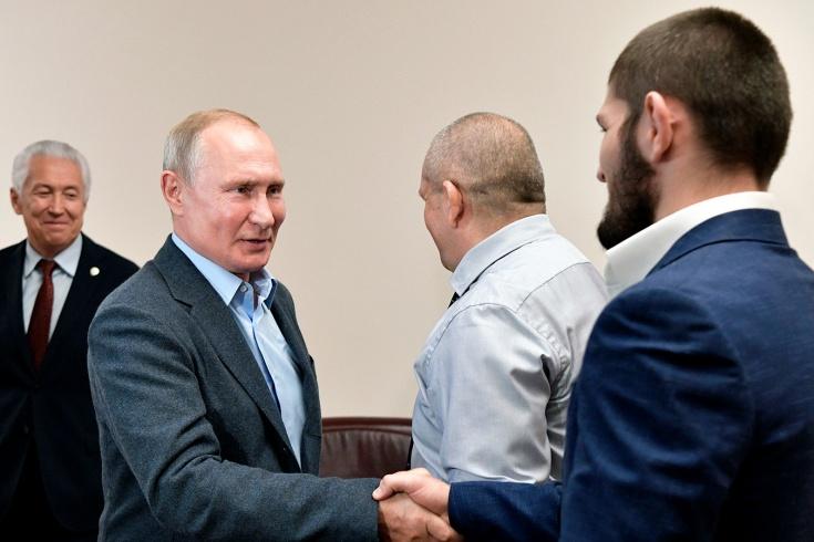Хабиб попросил Путина о помощи