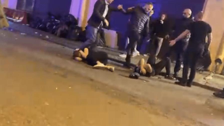 """""""Нормальный человек туда не пойдёт"""": драка на Думской попала на видео"""