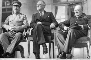77 лет назад в Тегеране открылась конференция «большой тройки»
