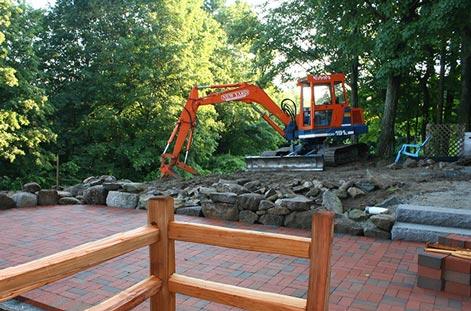 site work & excavation yard