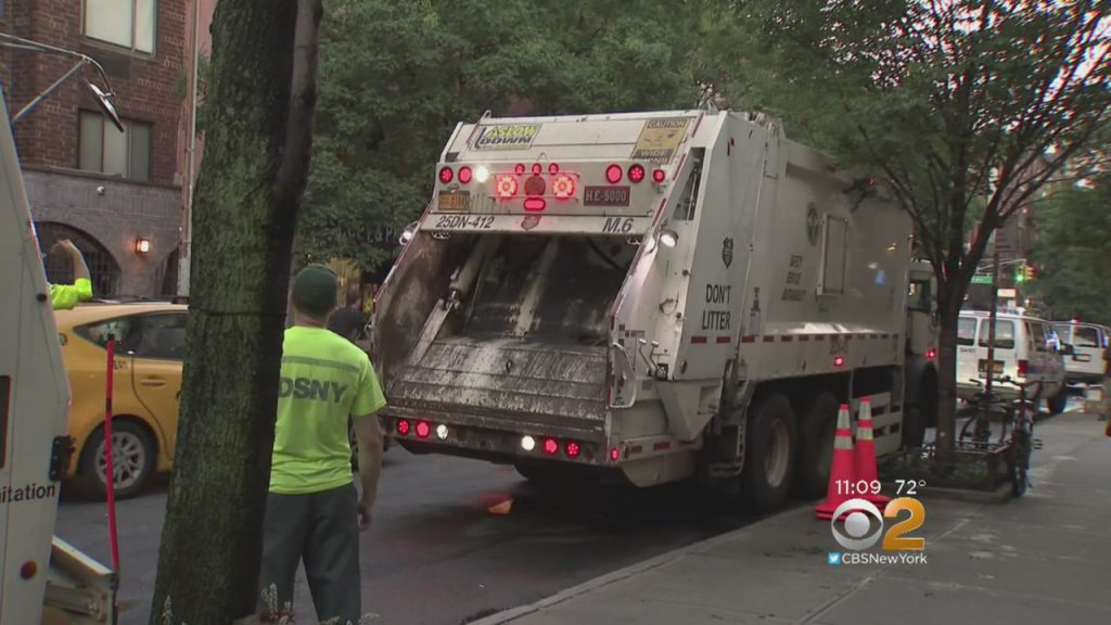 Over A Year Later, DSNY Garbage Trucks Finally Leaving After Stinking Up East Village