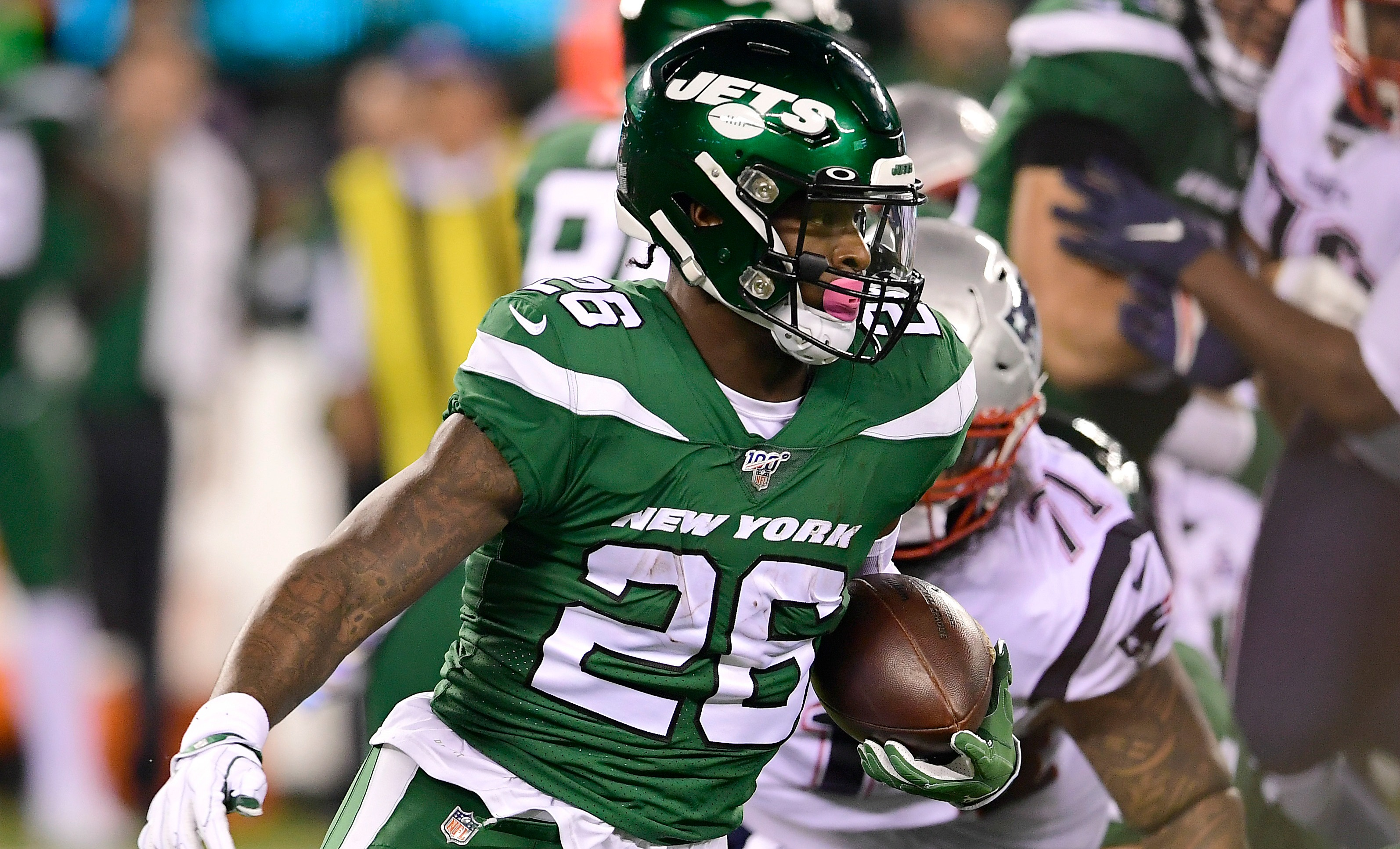 Jets' Bell Rips NFL After 5th 'Random' HGH Test, Refuses To Take Another Drug Test This Season