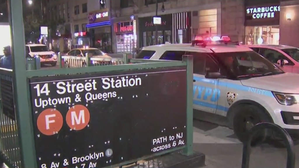 Man And His Dog Slashed Or Stabbed On Subway Platform In Manhattan