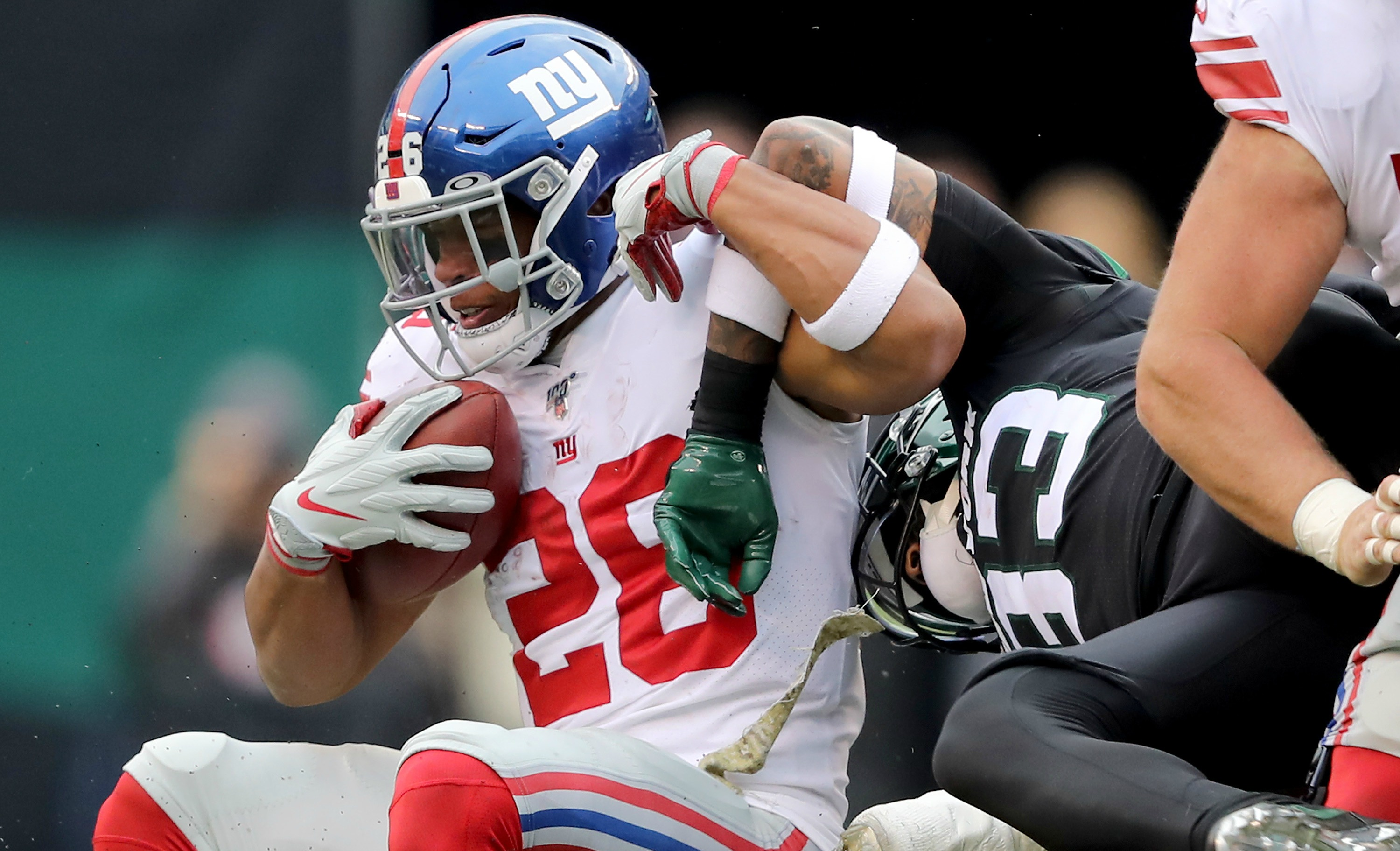 Barkley Credits Jets' Defense For His Nightmare Performance