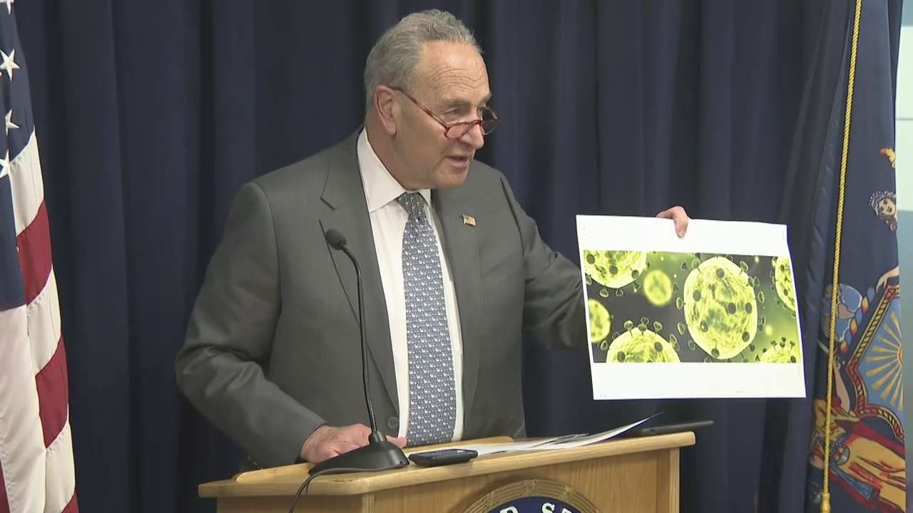 Schumer Calls For Faster Funding To CDC As 5th U.S. Coronavirus Case Confirmed