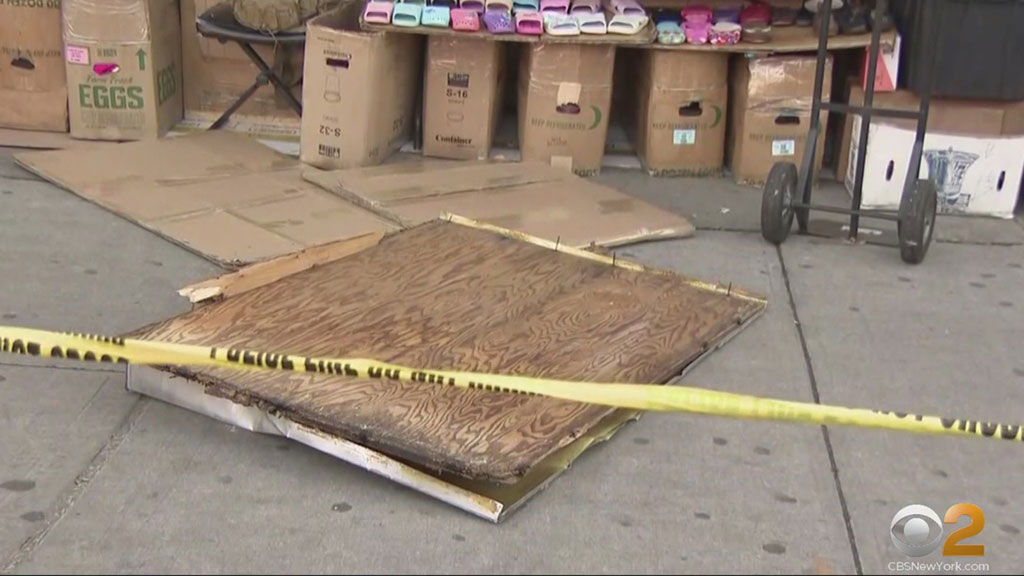 Queens Building Issued Another Violation After Falling Plywood Kills Woman On Sidewalk