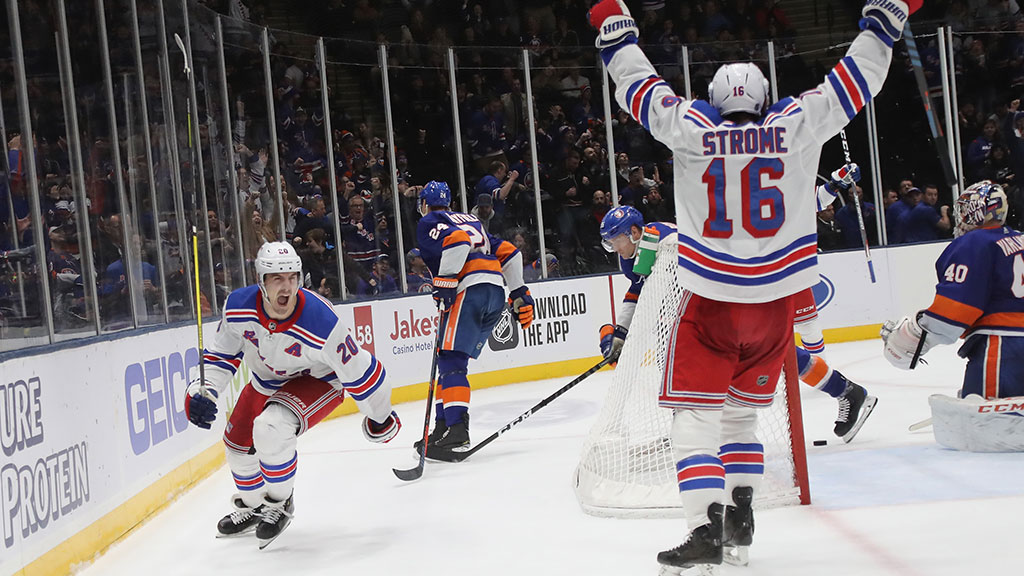 Kreider Scores Late To Lift Rangers Over Islanders