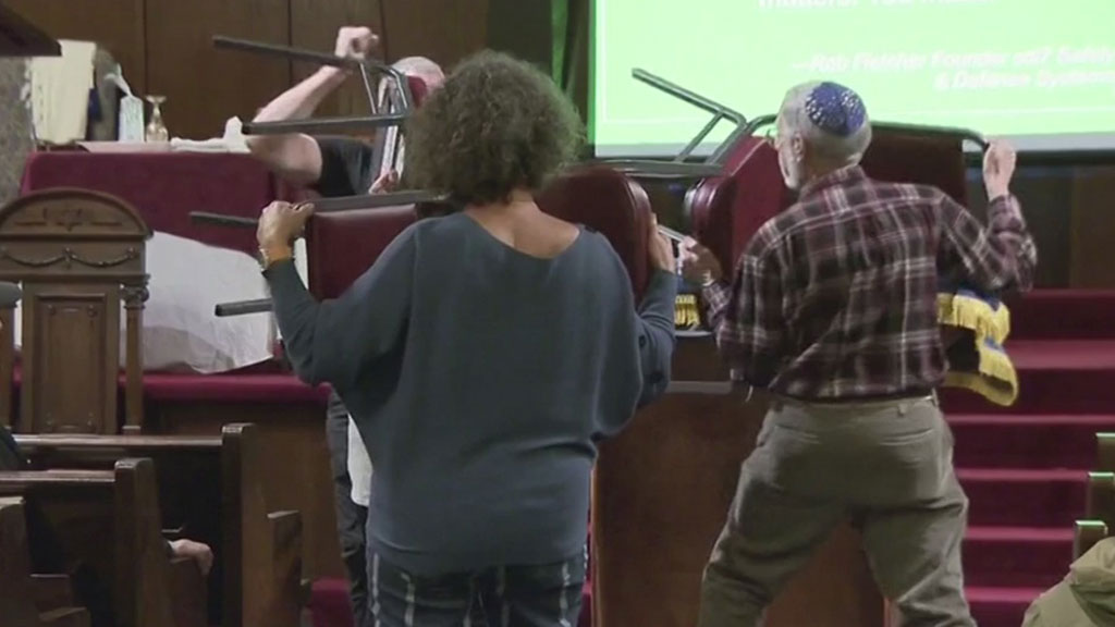 Congregants In Rockland County Learning Self-Defense After Synagogue Stabbing, Anti-Semitic Attacks