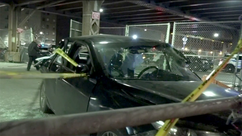 Two Hospitalized After Car Crash In East Harlem, Police Seek 1 Driver