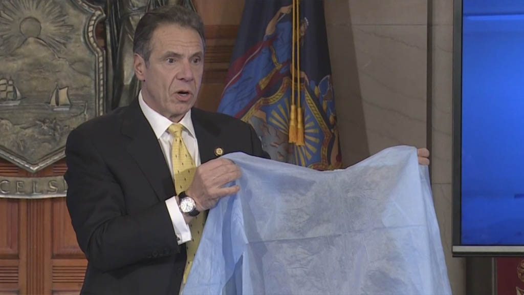 Coronavirus Update: Cuomo Signs Order Allow State To Redistribute Private Ventilators, PPEs To Combat Virus