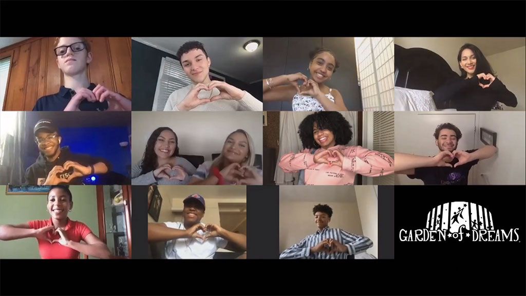 Coronavirus Update: Garden Of Dreams Alumni Ensemble Goes Virtual For Moving Performance