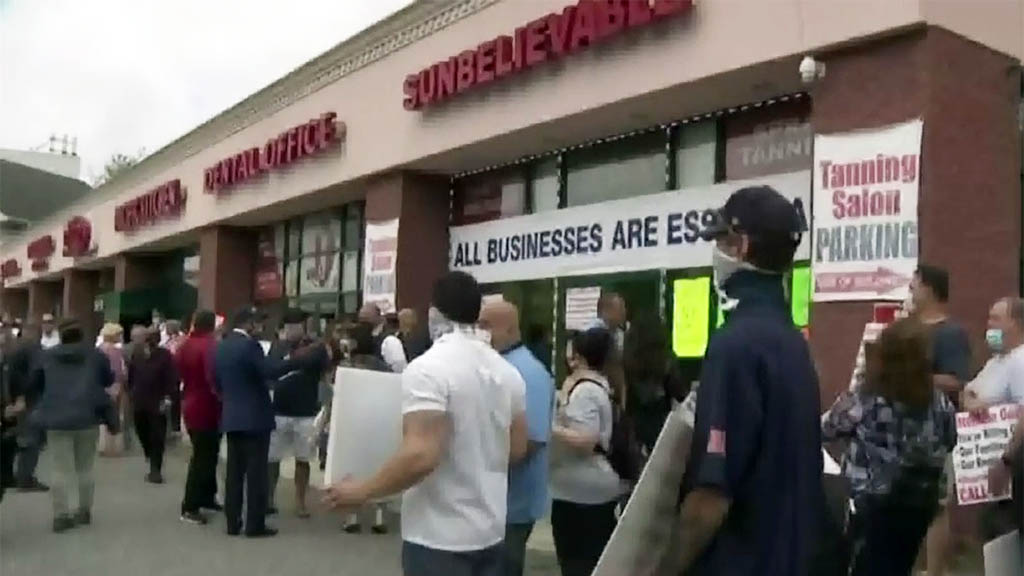 Small Business Owners On Staten Island Challenge Mayor Over Staying Shut; 'We're In A Dead Phase'