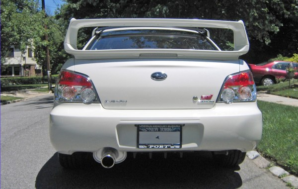2007 Subaru WRX STI featured on NewYorKars