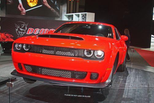 2018 Dodge Demon at 2017 New York International Auto Show