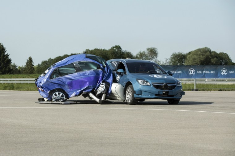 ZF external airbags