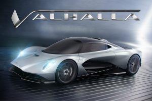 Bond 25 Aston Martin Valhalla
