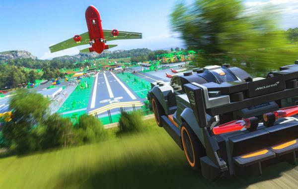 Lego McLaren Senna in Forza Horizon 4 Lego Speed Champions expansion