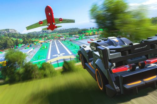 Lego McLaren Senna in Forza Horizon 4 Lego Speed Champions expansion