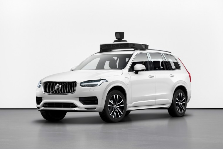 Uber and Volvo unveil self-driving XC90 in Washington, DC