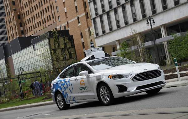 The new Ford Fusion Hybrid is a third-generation test vehicle that Argo AI is now deploying in collaboration with Ford in all five major cities of operation: Pittsburgh, Palo Alto, Miami, Washington, D.C., and now Detroit – where Ford is expanding testing beyond Dearborn