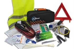 GearTop Top Gear-branded roadside assistance kit