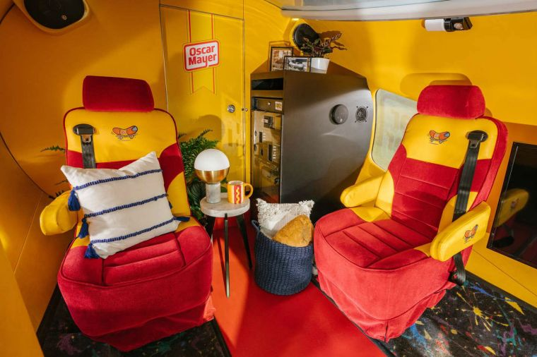 An Oscar Mayer Wienermobile is up for rent on Airbnb