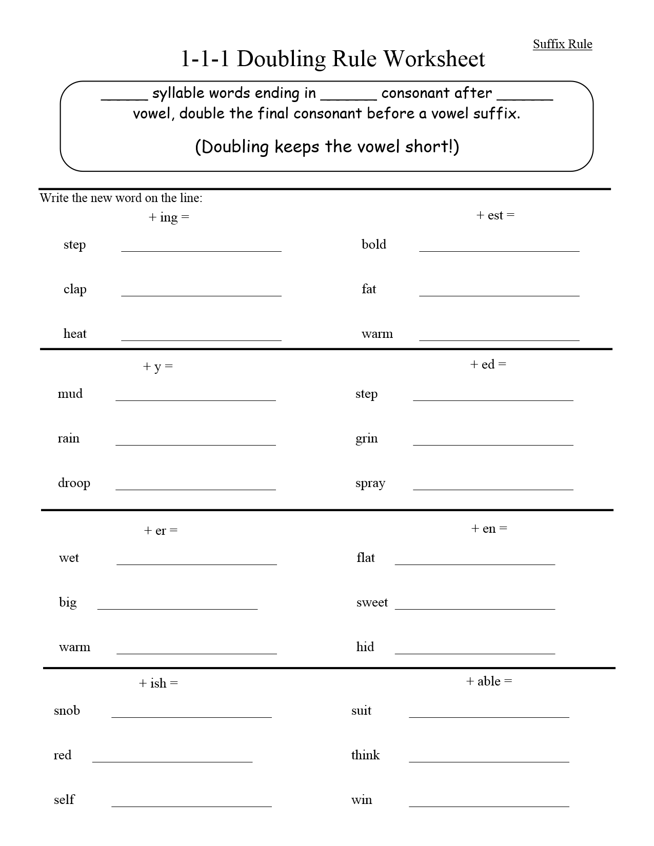 Worksheets For Dyslexia Spelling