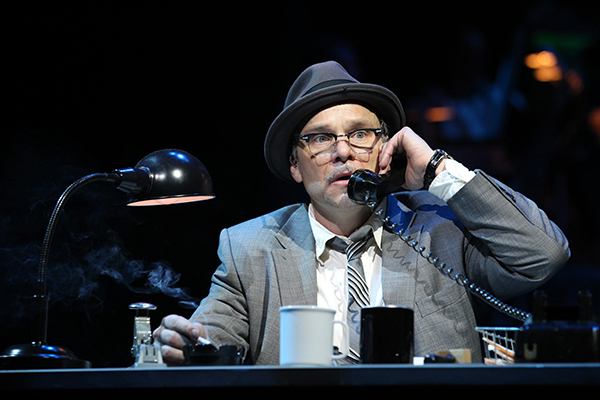 Norbert Leo Butz as Agent Carl Hanratty in Catch Me If You Can. Photo Joan Marcus.