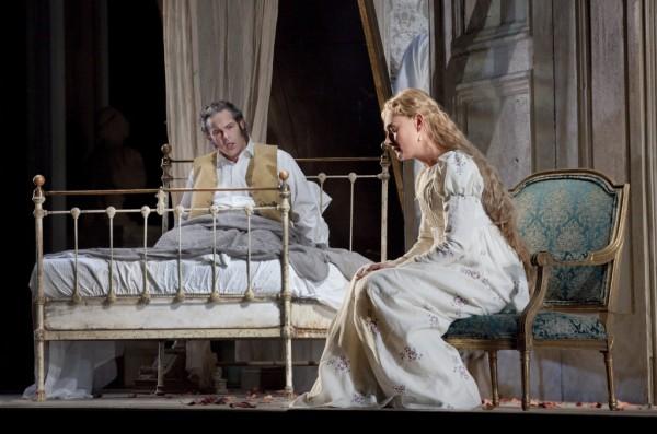 Gerald Finley and Magdalena Kožená. Photo: Ken Howard/Metropolitan Opera.