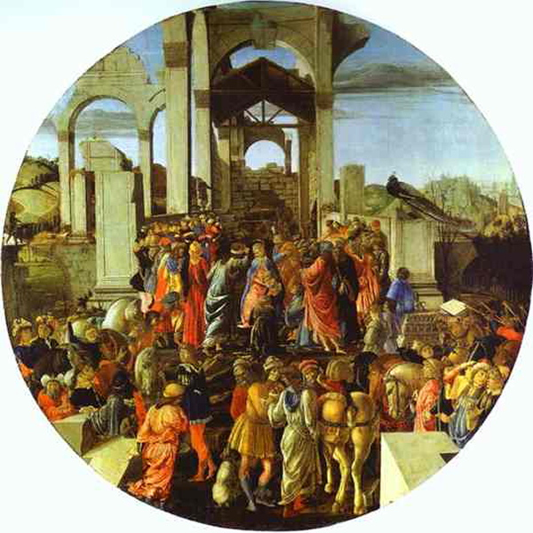 Sandro Botticelli Works Rome