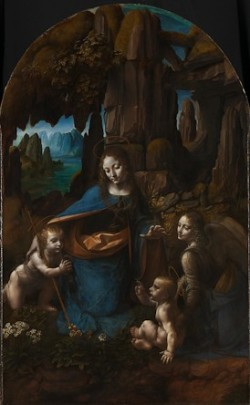 Fig. 6 Leonardo da Vinci (1452–1519), The Virgin of the Rocks, about 1491/2–99 and 1506-8, Oil on poplar, thinned and cradled, 189.5 x 120 cm, © The National Gallery, London (NG 1093)