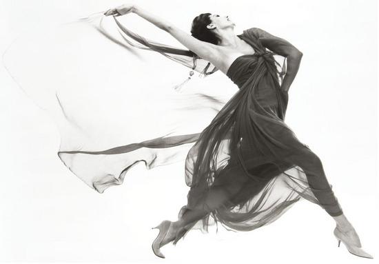 Richard Avedon (1923-2004) Cyd Charisse, Evening dress by Macrini, 1961