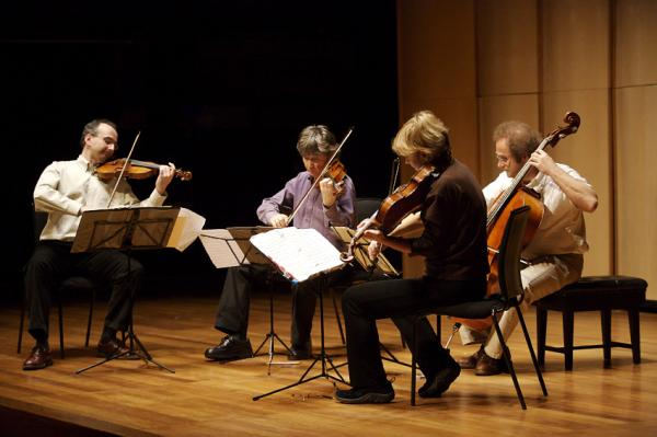 The Takács Quartet. Photo by Richard Houghton.