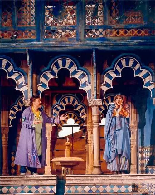Vivica Genaux in Coline Serrau's production of Rossini's Barber of Seville at L'Opéra national de Paris.
