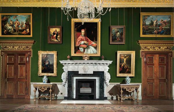 The Carlo Maratta Room, Houghton Hall. Photo John Bodkin.